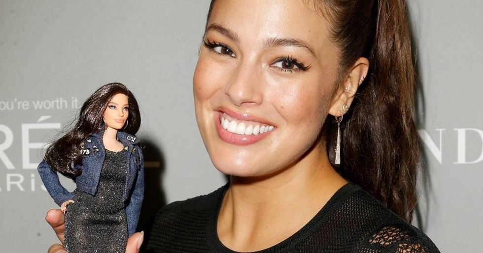 Model Ashley Graham Demanded That Her Barbie Be More Realistic