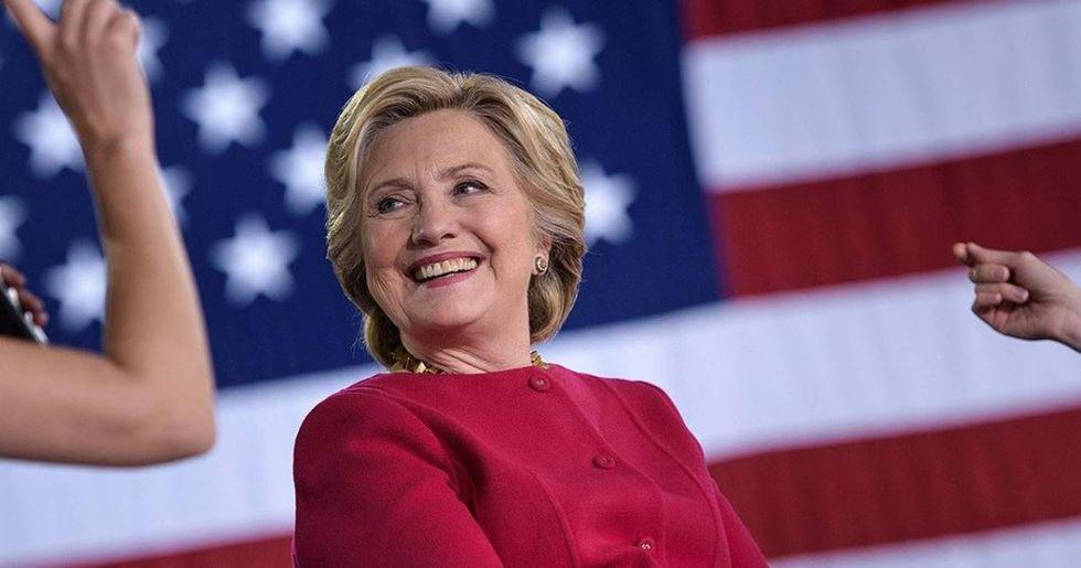 Clinton's Popular Vote Lead Over Trump Hits The One Million Mark