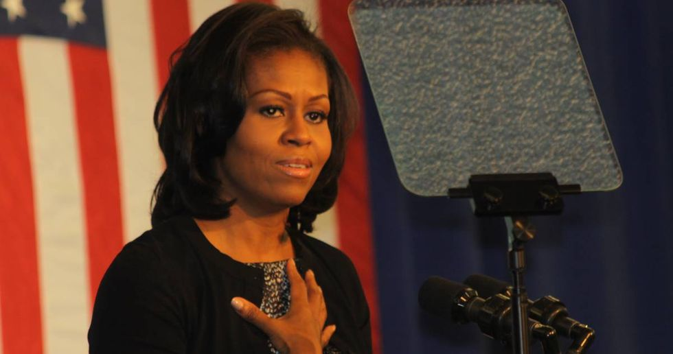 Michelle Obama Responds To Someone Asking Her To Run For President