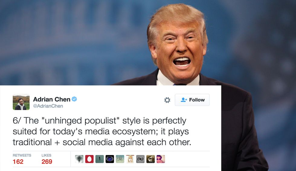 Journalist Explains The Method To Trump's Madness In 18 Tweets