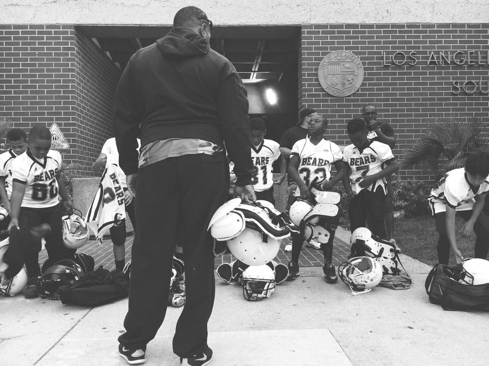 The Watts Bears And South LA Police Are Revolutionizing Community Relations Through Youth Football
