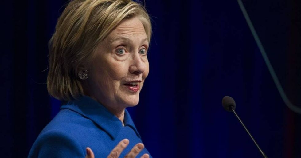 Twitter Celebrates Clinton's First Post-Election Appearance As A Middle Finger To The Patriarchy