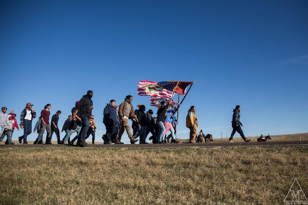 Water Protectors Invite All To Join At Standing Rock For 'Give Thanks' Migration