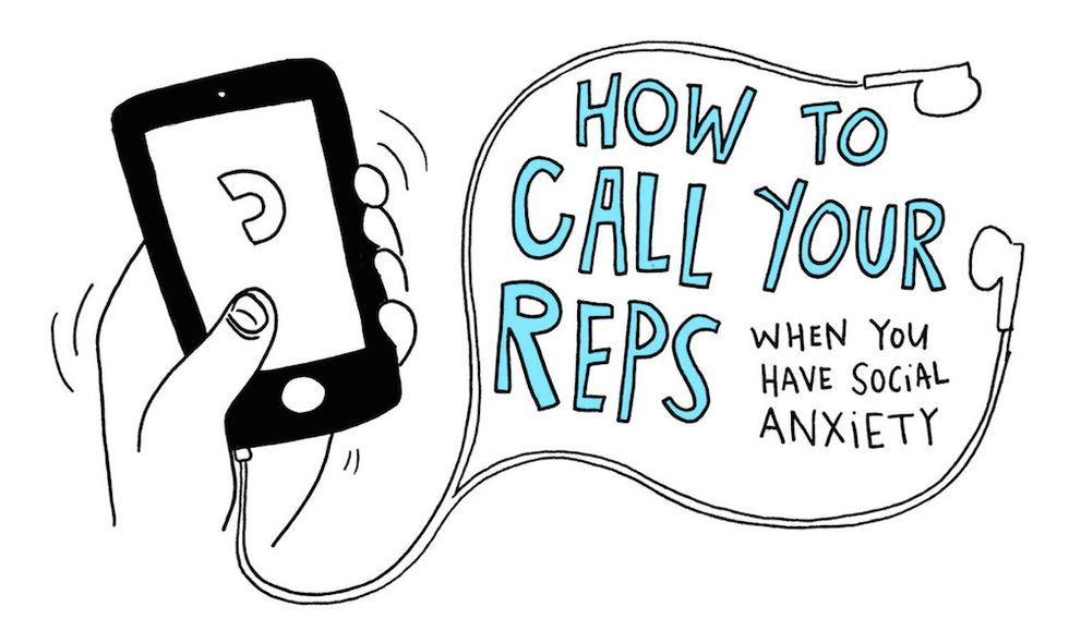 Don't Let Social Anxiety Stop You From Calling Your State Representatives