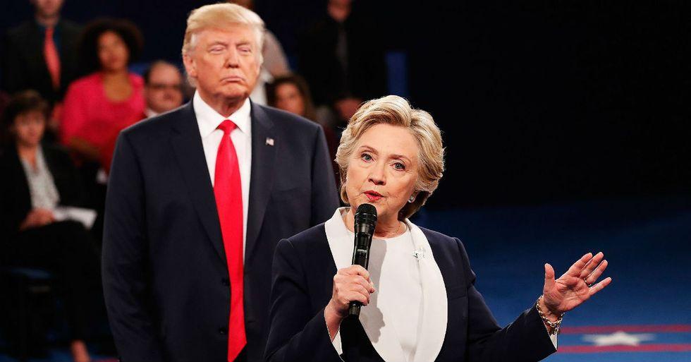 Trump Says He Won't Pursue Legal Case Against Hillary Clinton