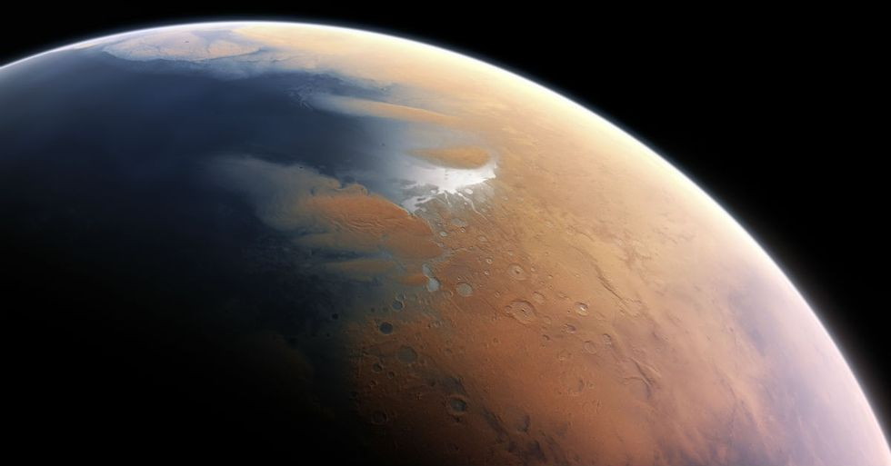 Newly Discovered Ice On Mars Contains As Much Water As Lake Superior