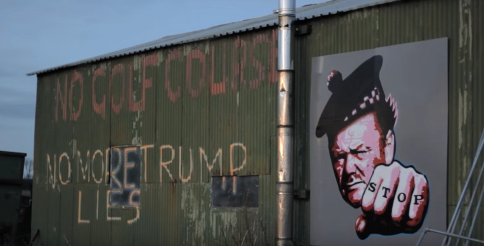 Trump Built A Wall In Scotland—Here's How That Turned Out