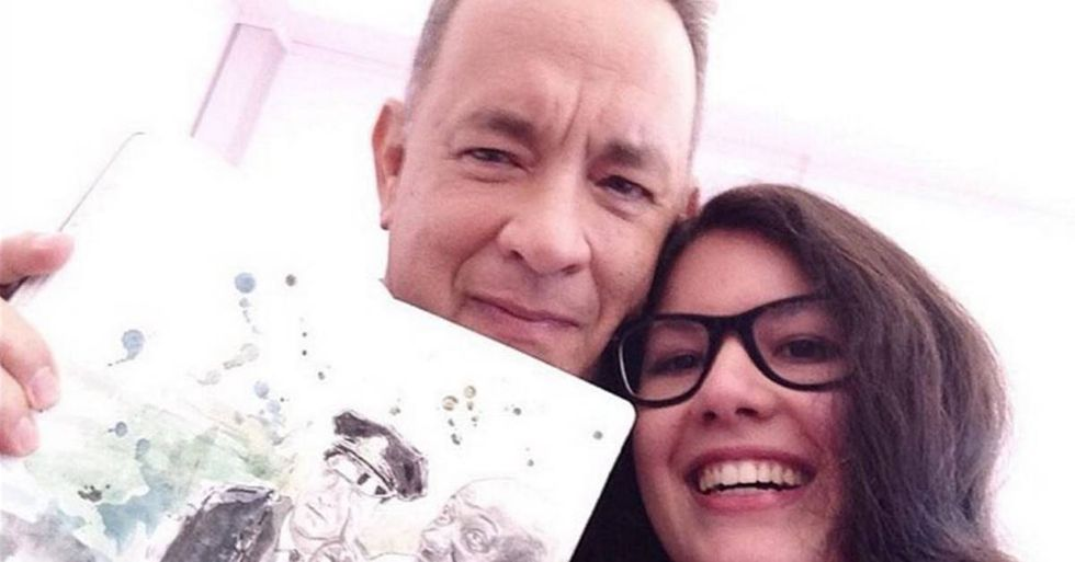 Tom Hanks Had A Gracious Gift For An Artist Who Made A Sketchbook Of His Movie Characters