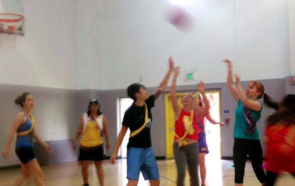 Wanted: Amateur Basketball Players With A Serious Sense Of Humor