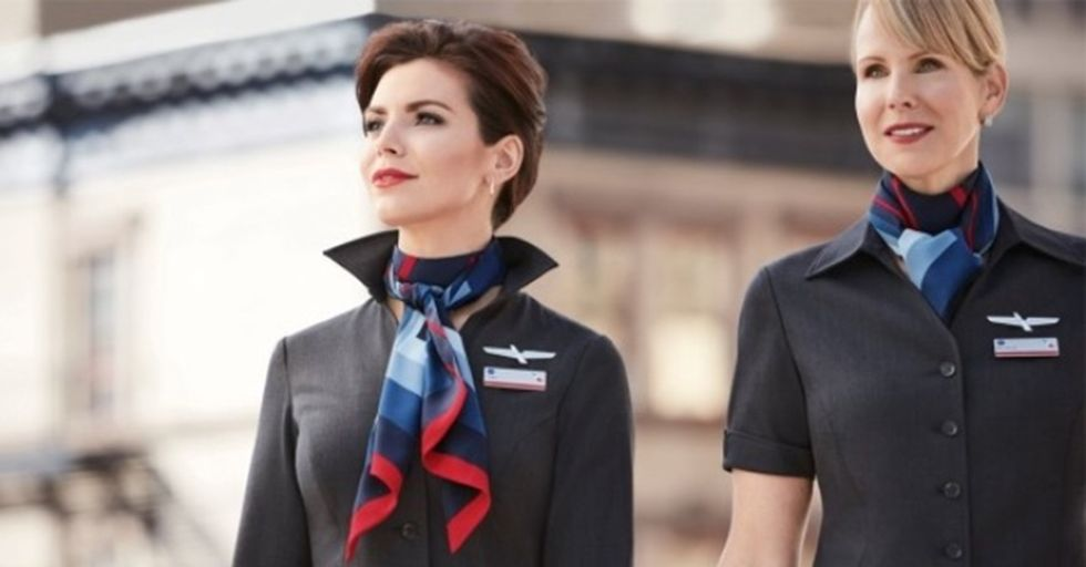 American Airlines' New Flight Attendant Uniforms Are Making People Physically Sick
