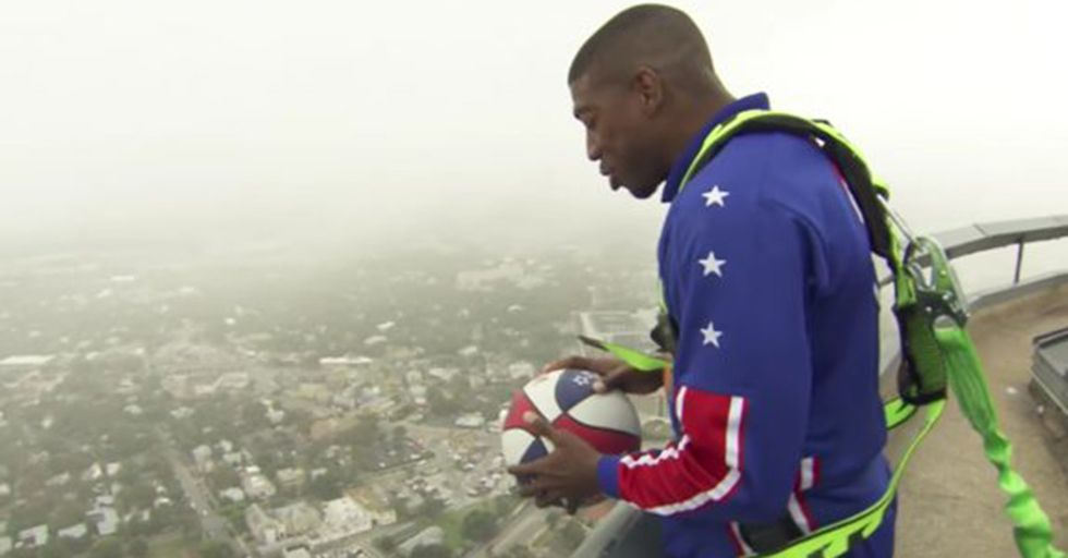 With Help From A Freaky Scientific Phenomenon, This Globetrotter Made The World's Longest Shot