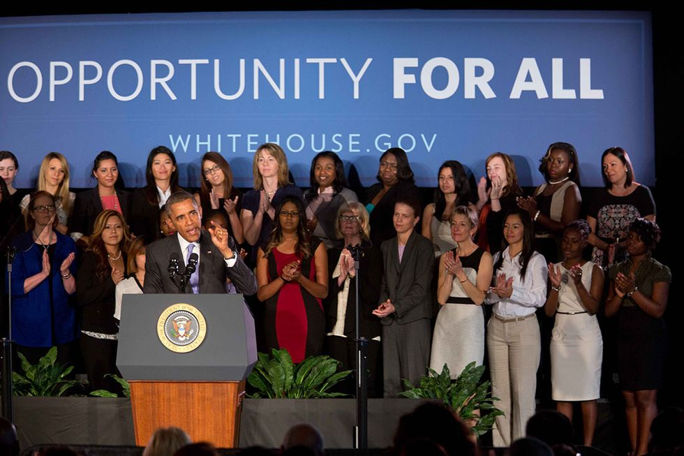 Barack Obama Just Made A Huge Final Push For Equal Pay