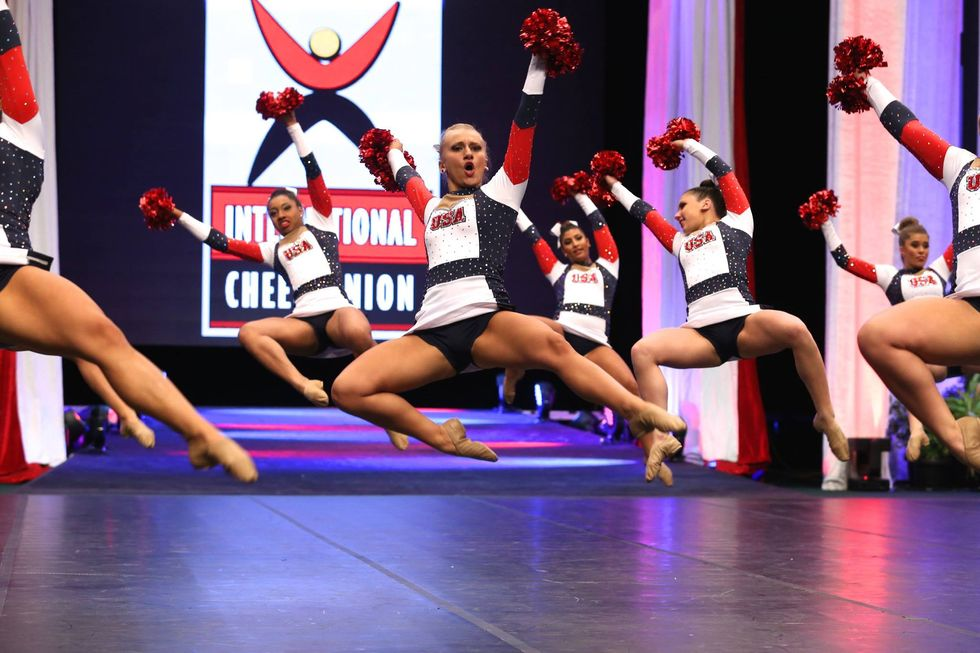 Cheerleading Could Become An Olympic Sport In 2024