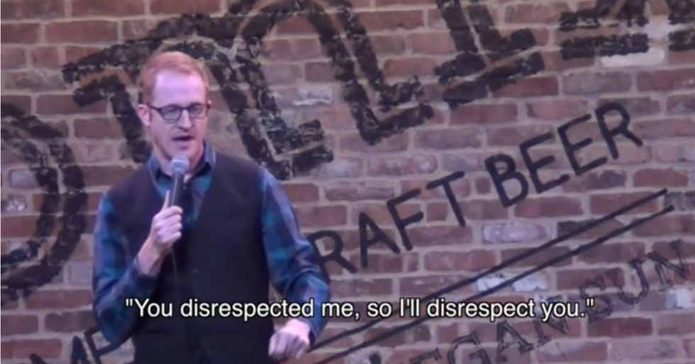 Comedian Shuts Down Heckler Cop After Joke About Police Violence