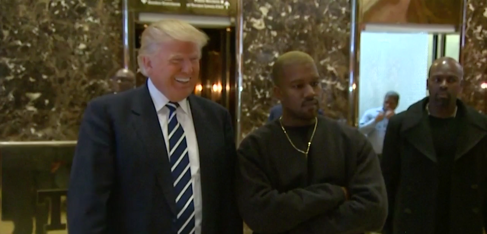 Kanye West Just Had A Personal Meeting With Donald Trump