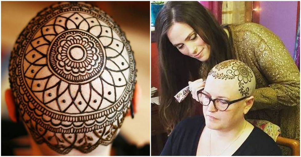 Seattle Artist Makes Henna Crowns For Women Who've Lost Their Hair To Chemotherapy