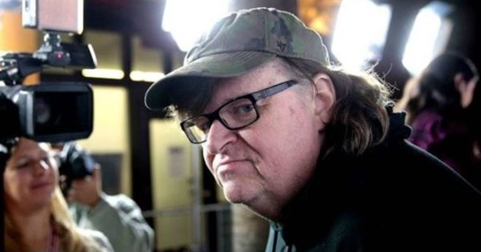 Michael Moore Just Issued His Scariest Warning About Trump Yet