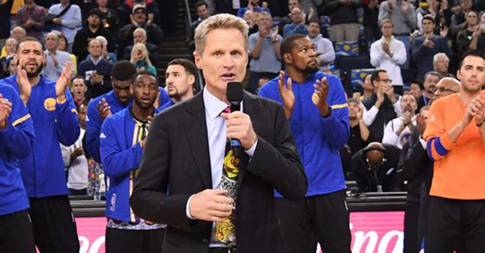 Steve Kerr And Fans Celebrate The Life Of Craig Sager With A Wonderfully Apt 'Moment Of Joy'