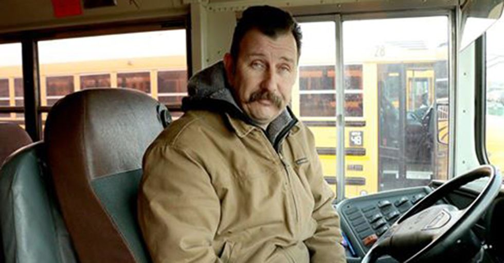 A Bus Driver Notices A Student So Cold He's Crying And Responds With A Kind Act