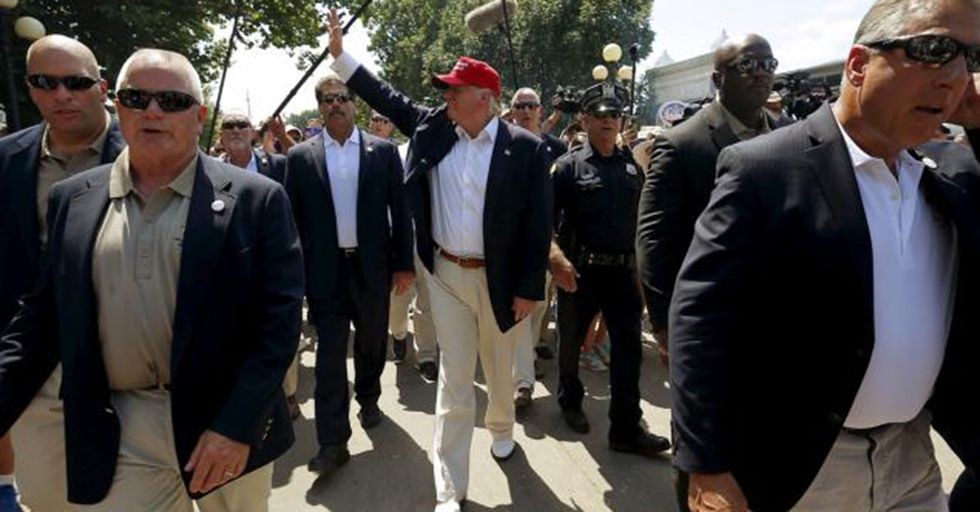 Donald Trump's Plan To Maintain A Private Security Force Is Unprecedented And Very Problematic
