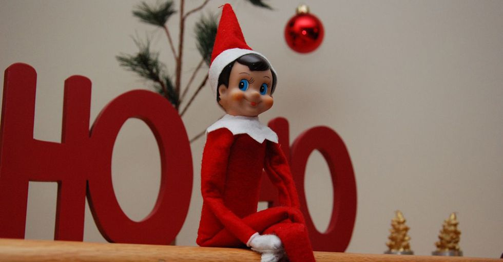 When Dad Presents These Sisters With The Elf On The Shelf, Things Get Dramatic Very Quickly