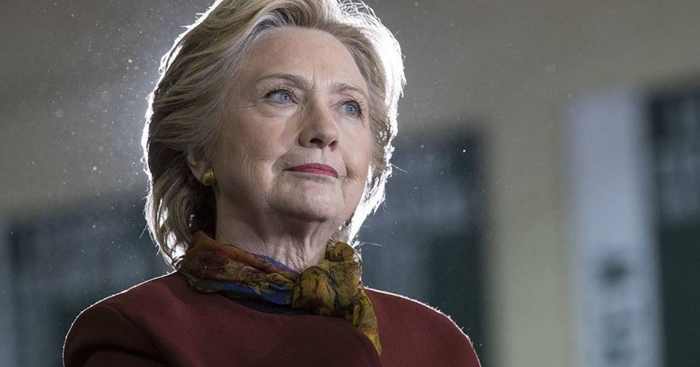 Hillary Clinton Reveals The Two 'Unprecedented' EventsThat Cost Her The Election