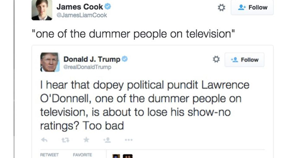 Let's Go Back And Look At Some Of The Words Trump Has Misspelled In His Tweets