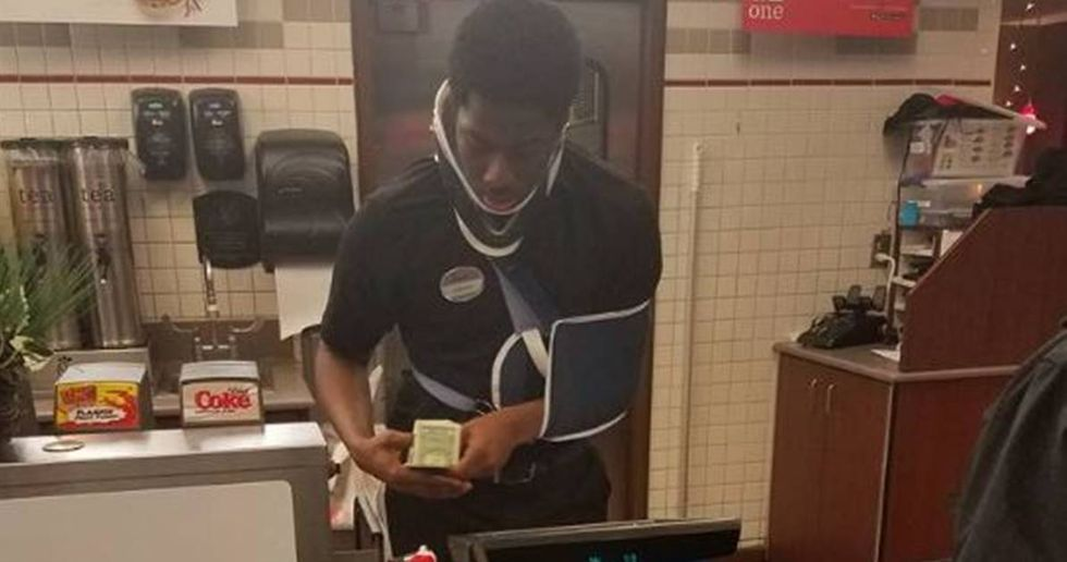 Man Raises $42,000 For Generous Fast Food Cashier