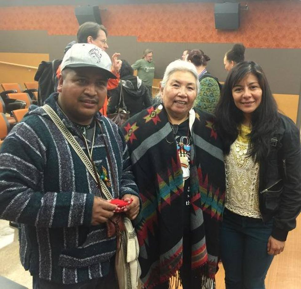 Electoral College Member Votes For Faith Spotted Eagle