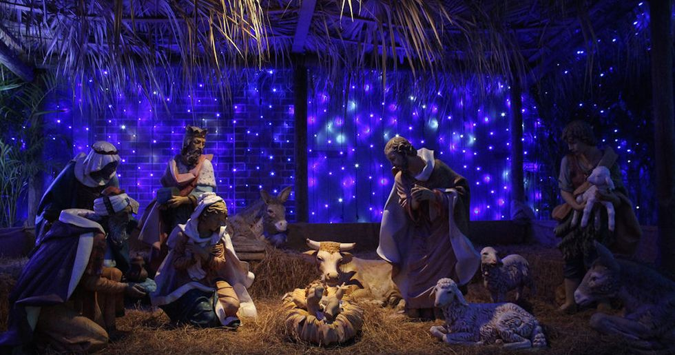 Photo Shows What A Nativity Scene Would Look Like Without Jews, Arabs, Or Africans