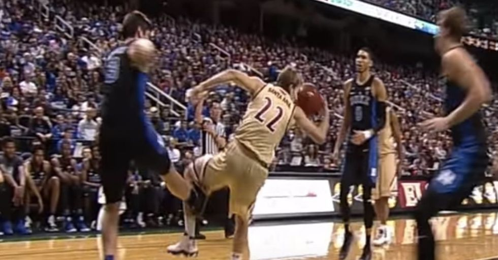 Duke Suspends Its Star Player After Third Instance Of Tripping An Opposing Player