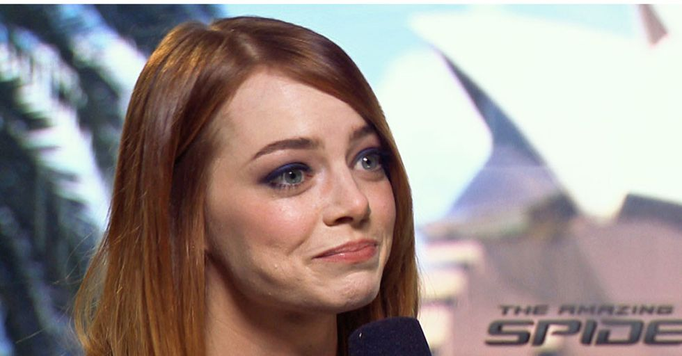 Emma Stone Discusses Her Struggle With Anxiety She's Had Since Childhood