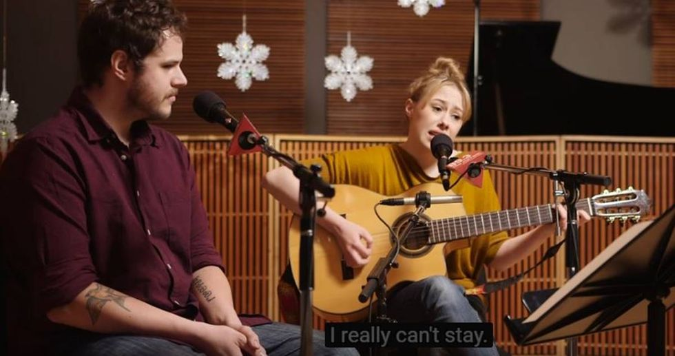 Songwriters Rework 'Baby, It's Cold Outside' To Be About Consent