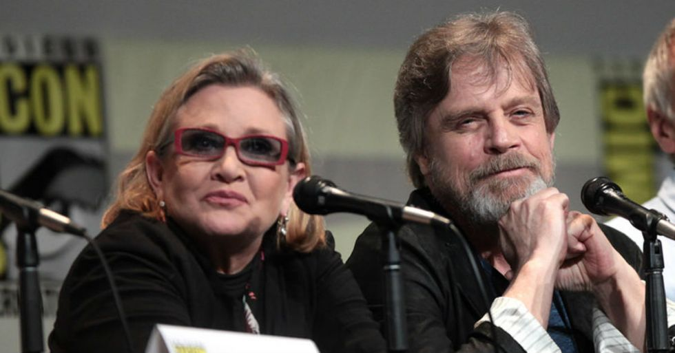 Mark Hamill Writes Heartbreaking Tribute To Carrie Fisher