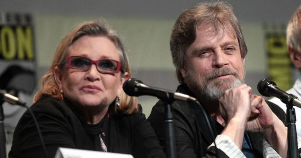 Mark Hamill Pens A Touching Tribute To 'Star Wars' Co-Star Carrie Fisher