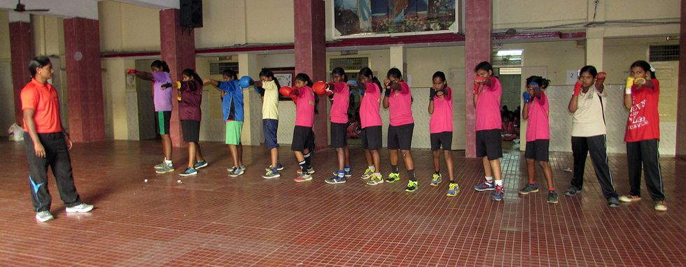 Boxing Is The One-Two Punch Kids In India Need