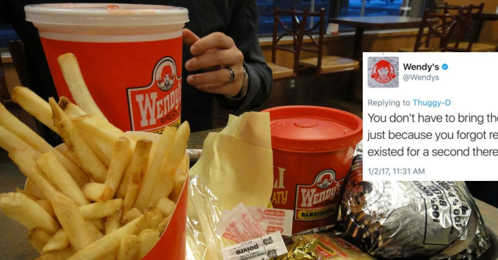 Wendy's Scorches Twitter Troll In Magnificent Clap Back