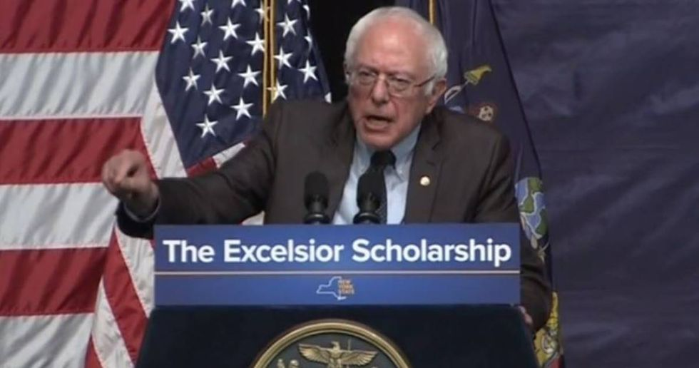 Governor Cuomo And Bernie Sanders Unveil A Plan To Make College Free For New Yokers
