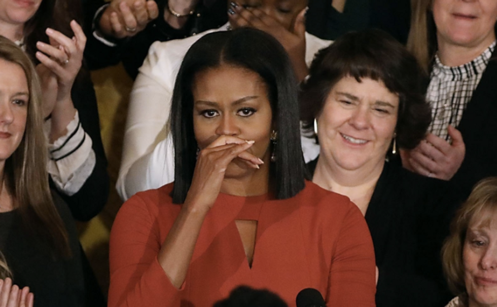 Michelle Obama's Final Remarks Will Leave You In Tears