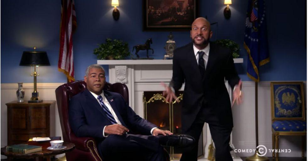 "Key & Peele Reunite For Final Obama ""Anger Translator"" Skit"
