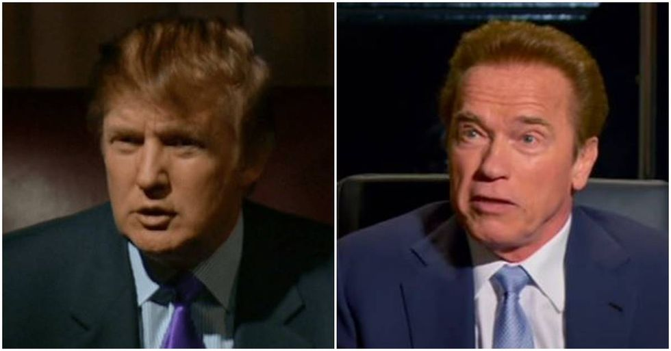 Arnold Schwarzenegger Takes The High Road After Trump's Twitter Diss