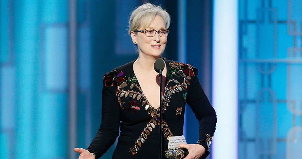 Donald Trump, Our Next President, Took Time To Insult Meryl Streep On Twitter
