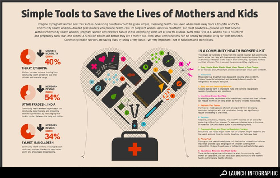 Infographic: How Community Health Workers Save Lives in the Developing World