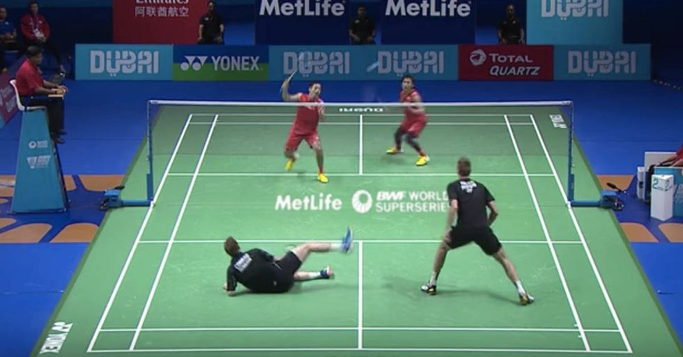 Who Knew A Badminton Highlight Could Be This Impressive?