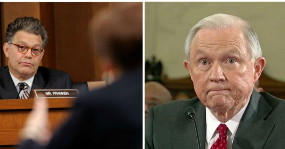 Al Franken Gets Jeff Sessions To Admit 'Inflated' Civil Liberties Claims