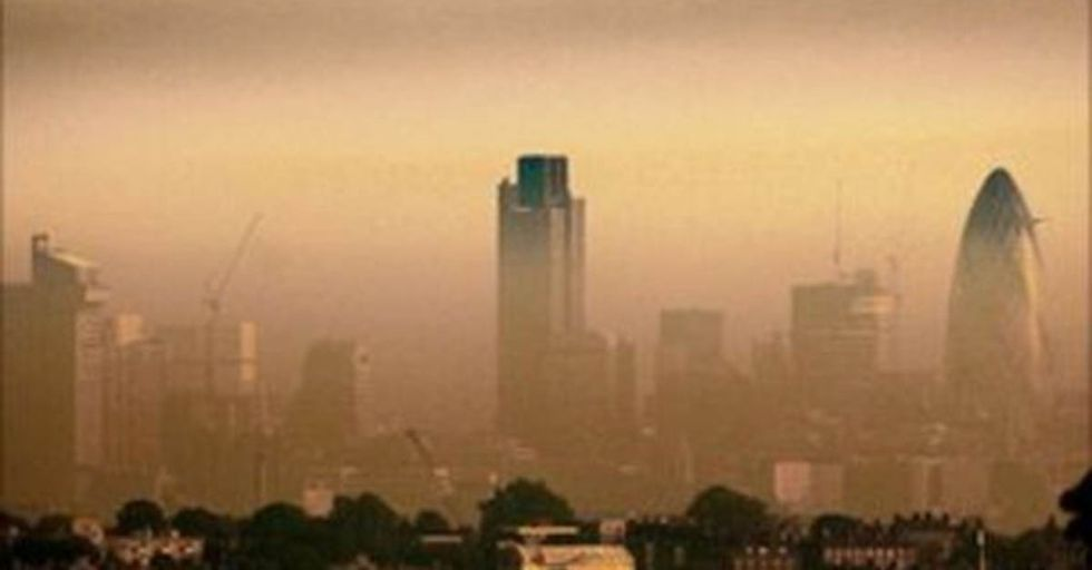 Just Five Days Into 2017, London Surpassed Its Annual Limit For Airborne Toxins