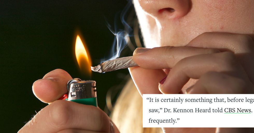This obscure marijuana-related illness is on the rise in states with legalized pot.