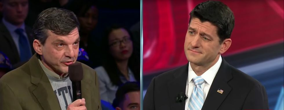 Cancer Survivor Saved By Obamacare Confronts Paul Ryan On Its Repeal
