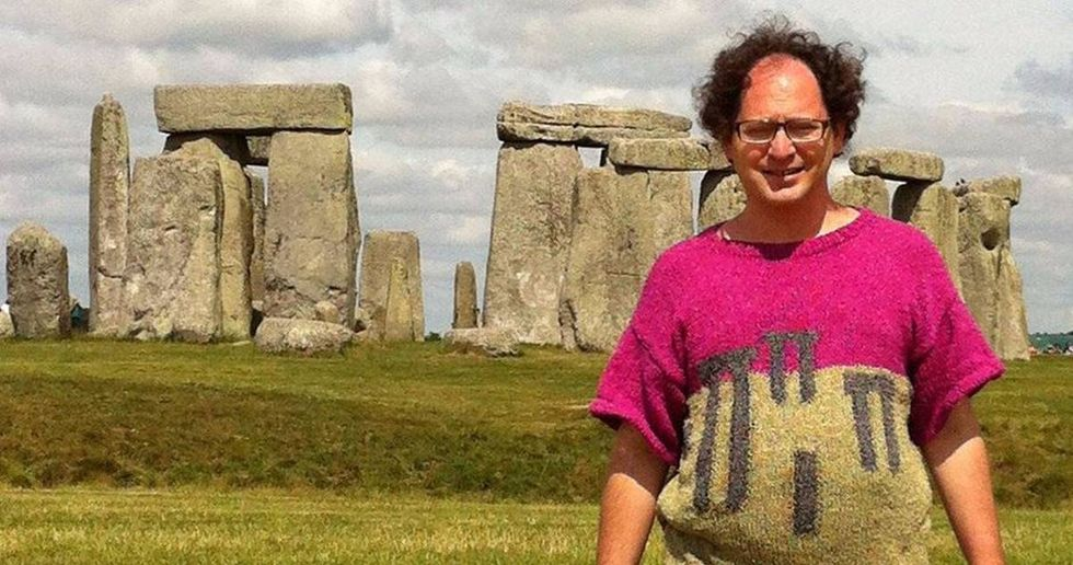 Sam Barsky Knits Sweaters Of The Landmarks He Visits