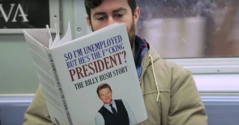 GOOD Talks With Fake-Trump-Book Prankster Scott Rogowsky